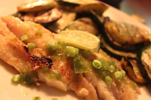 Lemongrass-Marinated Grouper Paired with Dr. Pauly Bergweiler Riesling. (2)