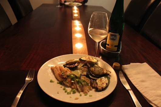 Lemongrass-Marinated Grouper Paired with Dr. Pauly Bergweiler Riesling