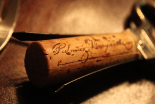 Palmaz Riesling Cork