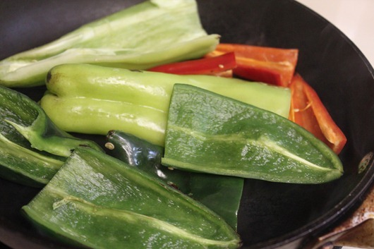 Peppers in a Pan.