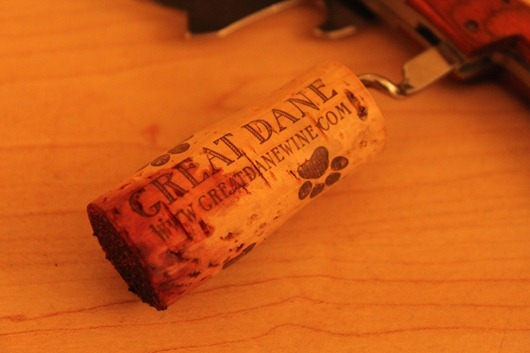 Great Dane Napa Cabernet Cork