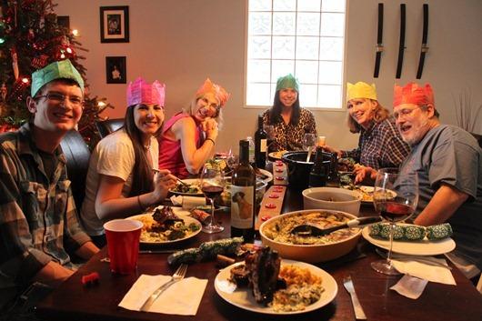 The Redneck Christmas Family Photo