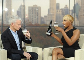 Even the Silver Fox drinks Moscato!