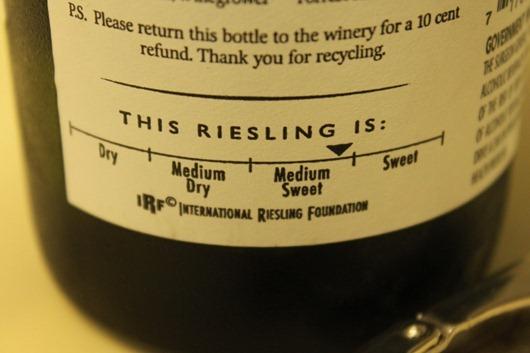 Willamette Valley Vineyards Riesling.