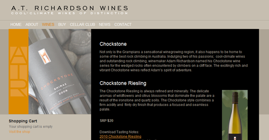 Chockstone Shiraz