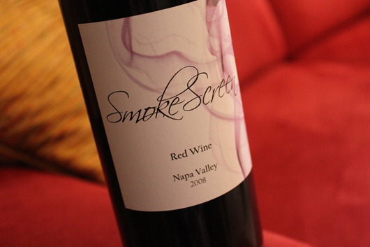 Smokescreen Red Wine Blend, Napa Valley, California.