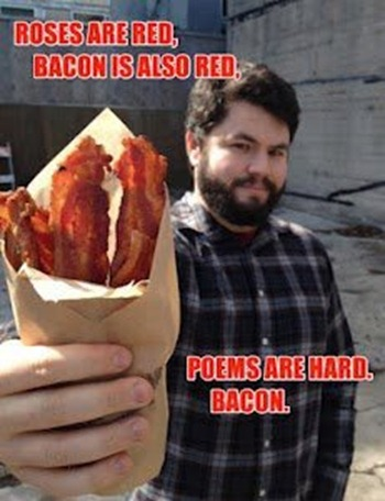 My Kind of Poem. Bacon.