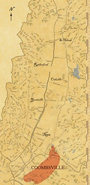 Coombsville AVA Wine Map