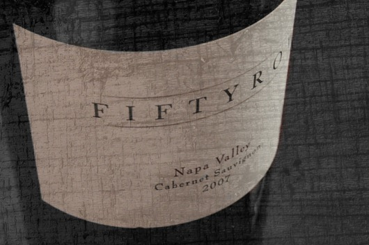 Fiftyrow Cabernet, Napa, 2007 - Front Label