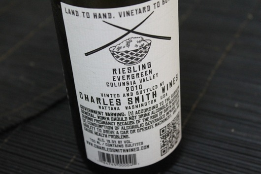 Kung Fu Girl Riesling by Charles Smith Wines, Columbia Valley, Washington State