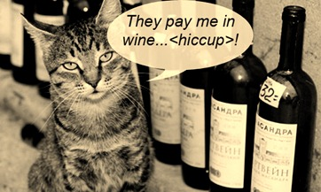 Mr. Whiskers - Takes Payment in Wine
