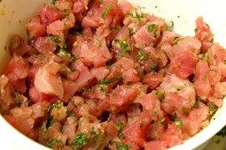 Tuna in the mix.