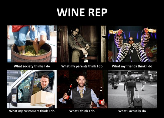 Sh*t That Wine Reps Do.