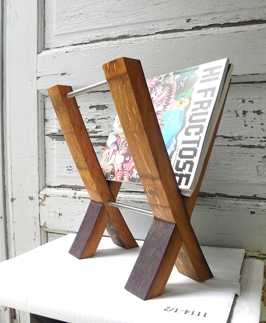 wine-barrel-Magazine-Rack