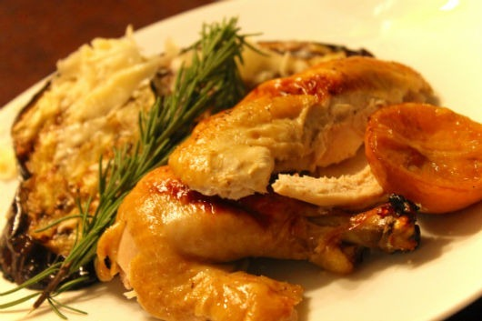 Rosemary-and-Clementine-Roast-Chicken-with-Paired with-Rendez-vous-Chardonnay-Clarksburg-California.