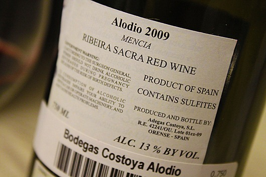 Ribeira-Sacra-Alodio-Mencia-Spain-Bottle
