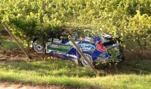 A Quick Vineyard Tour of Alsace for Rally Driver Petter Solberg.