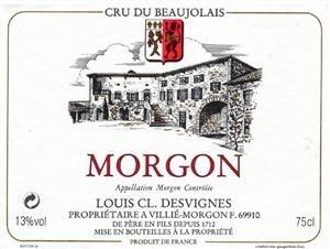 Desvignes Morgon Javernieres Beaujolais