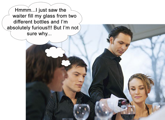 Wine Myths…Busted: Should you Complain if Wine is Served from Two Separate Bottles?
